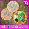 2016 het Nieuwste 5in1 Houten Spel van de Raad, het Grappige Onderwijs Houten Spel van de Raad van Kinderen, het Populaire Spel W11A044 van de Raad van het Stuk speelgoed van Kinderen Houten