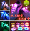 2017 vente en gros Green Glowing Shoelaces aucun Tie pour Sports Shoes