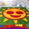 Fumetto Pattern Manufacture variopinto Customized Artificial Grass per Kindergarten Park Decoration