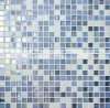 telha de vidro do mosaico do derretimento quente colorido de 15X15mm (BGC012)