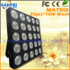 25X10W СИД Wash Effect Matrix Light для Stage (SF-S01B)