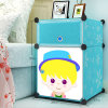 Plastic Simple DIY Storage Cabinets voor Children (ZH0021)