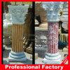 Columna romana de mármol tallada mano hermosa