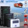 BMS-Zentriertes Zonen-herkömmliches Feuersignal-Notausgang-Basissteuerpult-System des Feuersignal-FM200 des Gestänge-1-32