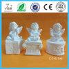 Standbeeld/Beeldje van de Engel van Polyresin het het Witte voor de Decoratie van het Huis