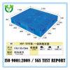 Pálete Stackable durável plástica da manufatura dobro do HDPE da face 1100*1100