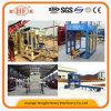 Qt6-15Dを機械で造らせる機械煉瓦敷石の構築にコンクリートブロック