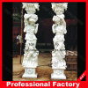 Indoor/Outdoor를 위한 백색 Marble Sculpture Roman Stone Pillar/Column