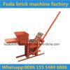 Pequeña máquina del bloque de la arcilla/máquina manual del ladrillo de la prensa