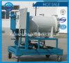 Máquina deshidratada fusión fácil del purificador de aceite de la operación
