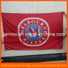 Знамя флага Красн Полиэфира Прямоугольн Компании