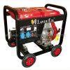 generador diesel abierto del recurso seguro de 5kVA 4kw con el depósito de gasolina grande
