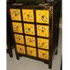 Armário CD de madeira antigo chinês Lwb475