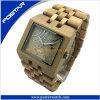Nuevo reloj de madera natural impermeable 2016 con el movimiento japonés