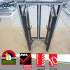 Telaio europeo Windows, oscillazione Windows di stile di colore UPVC della venatura del legno