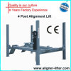 Cuatro Post Four-Wheel Alignment Lift con CE