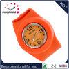 Reloj adulto del cuarzo del hombre del deporte de la palmada barata impermeable del silicón (DC-1352)