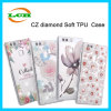 Ultra-Thin Clear Tranparent Diamante Crystal Soft TPU Case pour Huawei