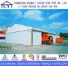 Tente de stockage d'entrepôt d'exposition extérieure en aluminium à l'extérieur