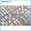 Het Droge Inlegsel van de Ets RFID van de hoge Precisie met het Materiaal van het Aluminium