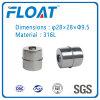 Bille de flottement magnétique de bille d'acier inoxydable pour le commutateur de flottement de niveau d'eau