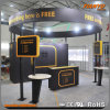 Cabine en aluminium de photo de tissu d'exposition modulaire