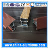 Puertas de aluminio de madera de los estilos para el perfil externo, perfil de aluminio de la puerta deslizante