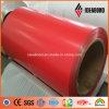Fornecedor na bobina de alumínio do revestimento do PE de Guangzhou com preço de custo