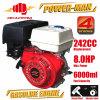 motor de gasolina refrigerado del comienzo del retroceso de 8.0HP 4-Stroke