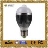 6With8W Motion Sensor LED Bulb met Pure Aluminum Material