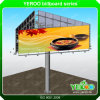 Quadro de avisos do anúncio ao ar livre do tamanho de Yeroo grande