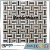 Mosaico decorativo de piedra de mármol natural del estilo elegante
