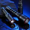 Lumifire CE/RoHS kühlen weiße Fackel der langer Umfang Dimmable Taschenlampe-LED Rechargerable ab