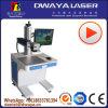 Tarjeta conocida de la eficacia alta máquina de la marca del laser de la fibra de 10 vatios