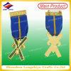 insigne militaire fait sur commande en métal du type 3D avec la goupille de sécurité (LZY00016)