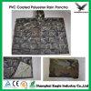 Poncho réutilisable de PVC d'adulte avec l'impression de logo pour la publicité