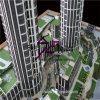 Kontrollturm Scale Model Maker mit Public Garten Show (BM-0280)