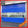 Roll up de obturación rápida Puerta industrial del plástico (ST-001)