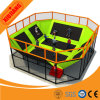 O melhor Quality Indoor Gym Playground para Kids Trampoline Indoor Gym Equipment com Sponge Pool