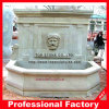 Beige Marble Wall Fountain mit Carved Head