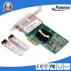 Femrice 1000Mbps Quad Port PCI Express X4 Fiber Optic Network Card, Gigabit Ethernet SFP Network Adapter (Intel 82580 Based)