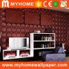 Papier peint 3D intérieur de panneaux de mur de PVC pour le bureau (500*500mm, WS22M5)
