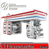 회전하는 Flexo Printing Machine 6 Colors High Speed (Changhong 상표)