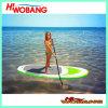 Aufblasbares Fastfood- Surfboard mit Paddles