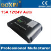 Sale caldo 15A Doxin PWM IP22 Solar Charger Controller