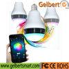 La lampadina di Gelbert LED ha altoparlante chiaro variopinto del teatro domestico