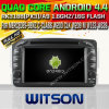 Benz Clk W209 (W2-A6513)를 위한 Witson Android 4.4system Car DVD