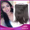 Популярный естественный черный прямой евроазиатский Frontal шнурка волос 13*4 девственницы