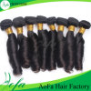 estensione poco costosa dei capelli umani dei capelli del Virgin dei capelli di Remy di prezzi del grado 7A