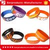 Wristbands feitos sob encomenda da borracha de silicone dos vários estilos